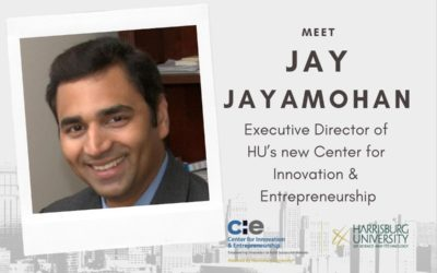 Meet Jay Jayamohan, Executive Director of HU's new Center for Innovation & Entrepreneurship