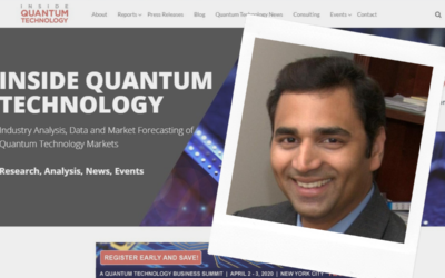 Jay Jayamohan Agrees To Serve As A Startup Forum Judge At IQT-NYC